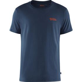 Fjällräven Torneträsk Camiseta Hombre, azul